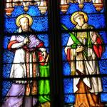 """Stained Glass Saints"" by Geoffrey_Angel-Attwood"