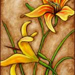"""Day Lilies"" by AraWitmer"