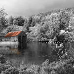 """Old Boat shed"" by Skyepix"