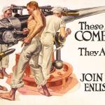 """These Boys Have Come Across (FX Leyendecker)"" by alternativeposters"
