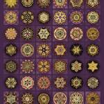 """Stellars One Dingbat Quilt"" by AnnStretton"