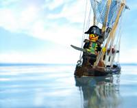 Lego Pirate of the bathtub