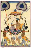 India, from 'The Art of Perfume', pub. 1912 (pocho