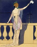 Farewell at Night by Georges Barbier