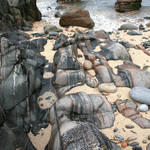 """Striped rocks"" by Skyepix"