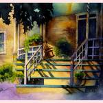 """Shadowed Front Porch"" by SSnyder"