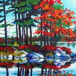 """vivid lakeshore"" by thunderfootstudiogallery1"