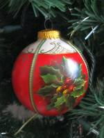 Old-fashioned Christmas ornament