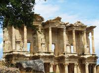 The Ancient Library of Celsus in Ephesus