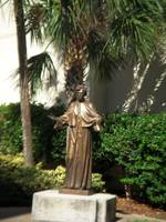 Patron saint of St. Augustine, Florida