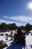 Winter ATV Ridin'