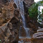 """Water cascading down a rock wall"" by kjfphotography"