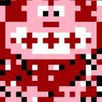 """Classic 8 Bit Donkey Kong"" by eatenbyrobots"