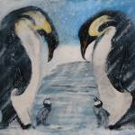 """Emperor Penguins"" by Miranda_Barnhardt"