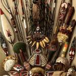 """Weapons and Utensils from Melanesia and Micronesia"" by inquirewithin"