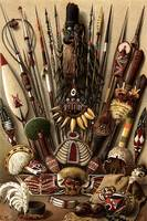 Weapons and Utensils from Melanesia and Micronesia