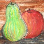 """""""Pear and Apple"""" by CassieJo"""