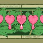 """Five Bleeding Hearts"" by JamieCo"
