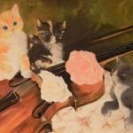 """""""Gattini col violino"""" by margherita_art"""