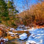 """Snowy Creek HDR"" by catalyst"