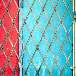 """""""Red and Blue with Grid, 1"""" by kyuboem"""