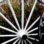 """Weathered Wagon Wheels 2"" by Donshots"
