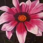 """Pink Flower"" by LisasOils"