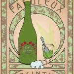 """Fabuleux Absinthe"" by nightpelican"
