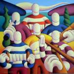 """Trad session big band"" by alankenny"