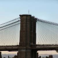Brooklyn Bridge Close Up Art Prints & Posters by brooklyn