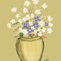 Flower Pot Art Prints & Posters by Kim Early