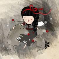 Orfilia Art Prints & Posters by Kristina Sabaite