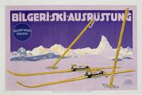 Advertisement for skiing in Austria, c.1912 (colou