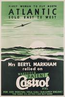 Poster advertising 'Castrol' oil, c.1938 (colour l