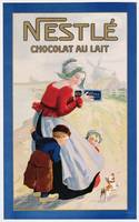 Advertisement for Nestle Chocolat au Lait, c.1920
