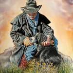 """""""Ranch Hand Friends"""" by UngerArt"""