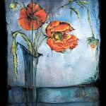 """Poppies - Ikebana"" by OpieSnowPrints"