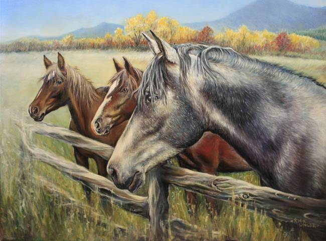 Ungerart Horses Fine Art Prints