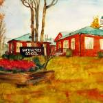 """Greenacres School"" by schulmanart"