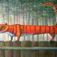 St. VALENTINE'S CAT Art Prints & Posters by Elisheva Nesis