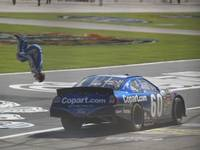 Carl Edwards Backflip