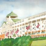 """Grand Hotel, Mackinaw"" by ClaraM"