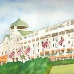 """Grand Hotel, Mackinaw"" by ClaraM"