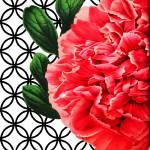 """""""Pretty In Pink Peony"""" by FarnumInkStudio"""