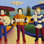 """Five soft musicians"" by alankenny"