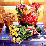 """Sunshine Roses"" by DavidLloydGlover"
