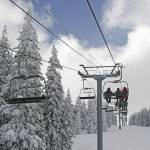 """Chairlift at Vail, Colorado"" by BrendanReals"