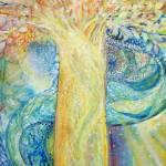 """Tree of Light"" by ArtSamadhi"