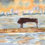 """Sunset Miami Piano Bar"" by wot53"