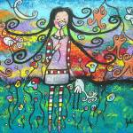 """She Dreams Of Spring"" by juliryan"